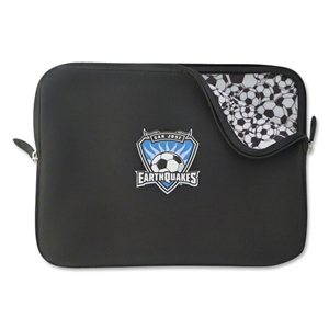 San Jose Earthquakes Soccer Neoprene Laptop Cover