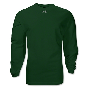 Under Armour Locker Long Sleeve T-Shirt (Dark Green)