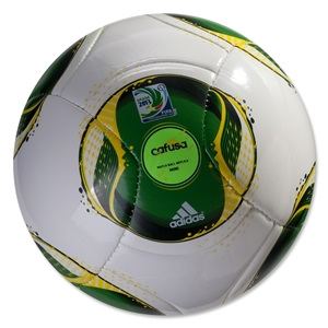 adidas FIFA Confederations Cup 2013 Mini Ball (White/Green)