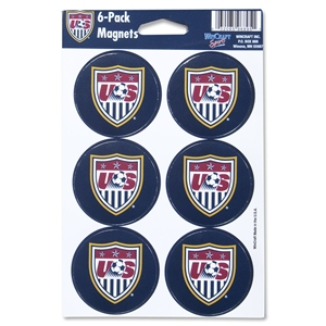 USA Six Pack Magnet