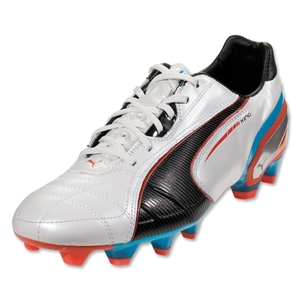 PUMA King FG (Metallic White/Black)