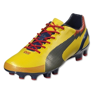 PUMA evoSpeed 1 Graphic FG (Blazing Yellow/Medival Blue)