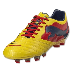 PUMA PowerCat 1 Graphic FG (Blazing Yellow/Medieval Blue)