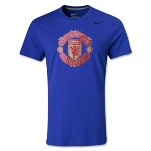 Manchester United Basic Crest T-Shirt