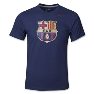 Barcelona Youth Core TD T-Shirt