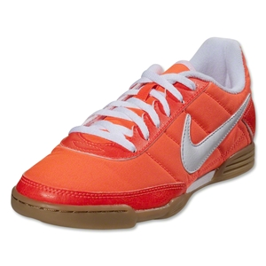 Nike5 Davinho Junior Indoor Shoe (Total Crimson/White)