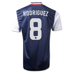 USA 12/13 Amy Rodriguez USA Away Soccer Jersey