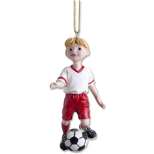 Soccer Girl Ornament