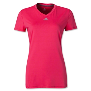 adidas Women's TechFit Training Top (Pink)