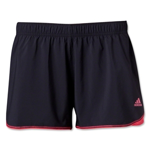 adidas Women's Varsity Training Short (Black/Pink)