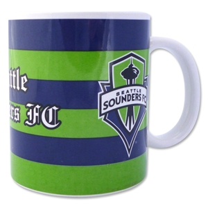 Seattle Sounders Scarf Mug Set of 2