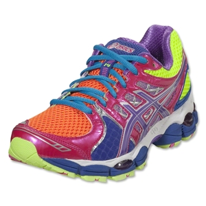 Asics Women's GEL Nimbus 14 (Light Bright/Grape/Pink)