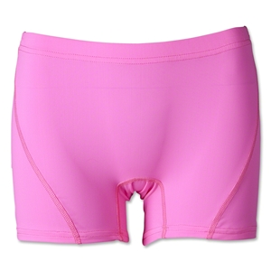 Women's 4 Compression Short (Neon Pink)