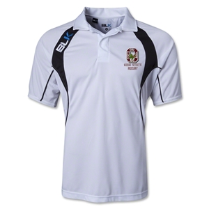 Ohio State Rugby TEK IV Polo (White/Black)