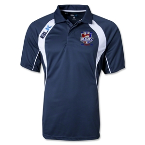Rugby PA BLK Tek IV Polo (Navy/White)