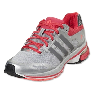 adidas Women's Supernova Glide 5 Running Shoe (Light Onix/Neo Iron Metallic)