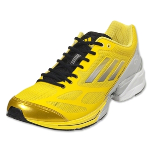 adidas adizero Feather 2 Running Show (Vivid Yellow/Neo Iron Metallic)
