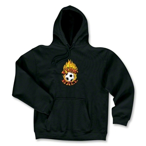 Fire Ball Soccer Hoody (Black)