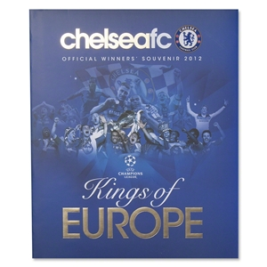 Chelsea FC Kings of Europe Book