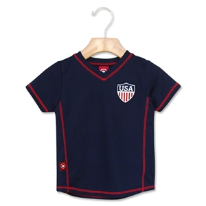 USA 2012 Toddler Away Soccer Jersey