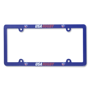 USA Rugby License Plate Frame II