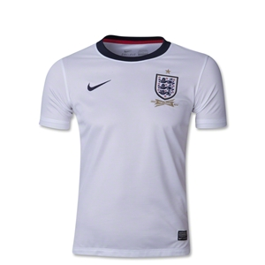 England 13/14 Youth Home Soccer Jersey