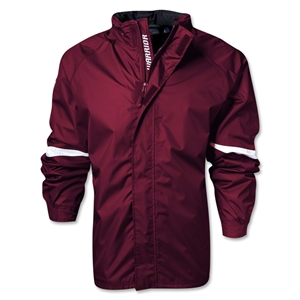 Warrior Barrier Waterproof Jacket (Maroon/Wht)