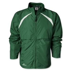 Warrior Motion Warm-Up Jacket (Dk Gr/Wht)