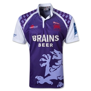 London Welsh 12/13 Euro SS Rugby Jersey