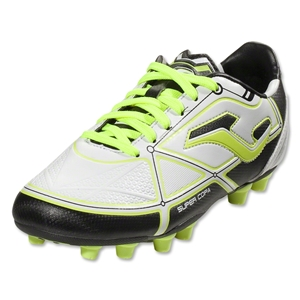 Joma Super Copa Junior FG (White/Bolt Lime)