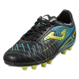 Joma Power Junior FG (Black/Power Blue/Sunvolt)