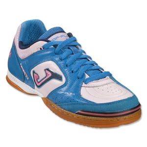 Joma Top Flex Indoor Shoe (Faded Pink/Royal)