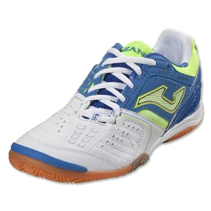 Joma Lozano Indoor Shoe (White/Royal/Sun Volt)