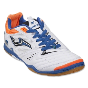 Joma Dribling Indoor Shoe (White/Royal/Flame/Black)
