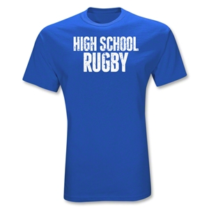 High School Statement T-Shirt (Royal)