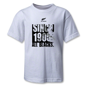 All Blacks Since 1905 Kids T-Shirt (White)