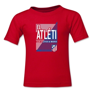 Atletico Madrid El Atleti Kids T-Shirt (Red)
