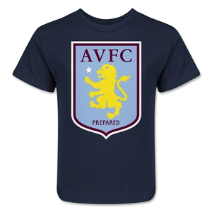 Aston Villa Kids T-Shirt (Navy)
