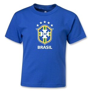 Brazil Kids T-Shirt (Royal)