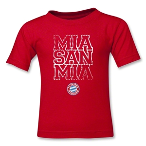 Bayern Munich Mia San Mia Kids T-Shirt (Red)