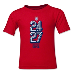 Bayern Munich 2014 Kids Champions T-Shirt (Red)