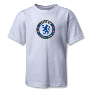 Chelsea Crest Kids T-Shirt (White)