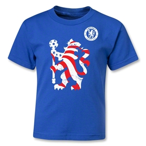 Chelsea Graphic Kids T-Shirt (Royal)
