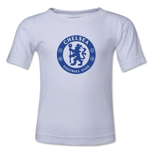 Chelsea Emblem Kids T-Shirt (White)