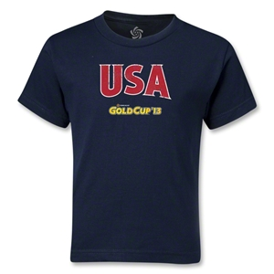 USA CONCACAF Gold Cup 2013 Kids T-Shirt (Navy)