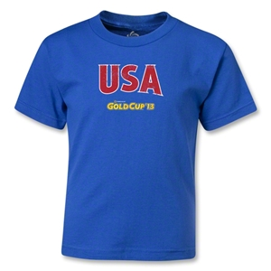 USA CONCACAF Gold Cup 2013 Kids T-Shirt (Royal)