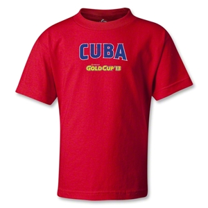 CONCACAF Gold Cup 2013 Kids Cuba T-Shirt (Red)