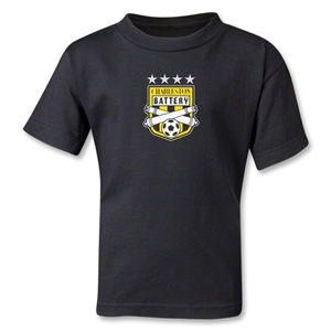 Charleston Battery Kids T-Shirt (Black)