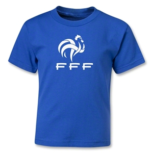 France FFF Kids T-Shirt (Royal)