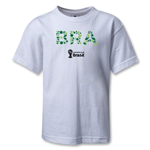 Brazil 2014 FIFA World Cup Brazil(TM) Kids Elements T-Shirt (White)